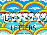 PREPRINTED on Regular Copy Paper Laundry Letters ABC Activity