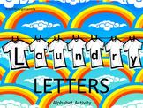 #bestof2017 PREPRINTED on Regular Copy Paper Laundry Letters ABC Activity