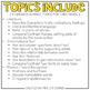 Third Grade English Language Arts Adapted Work Binder { Standards Aligned }