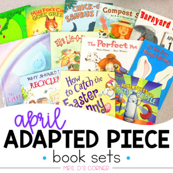 PRESALE April Adapted Piece Book Set [12 book sets included!]