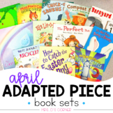 April Adapted Piece Book Set [13 book sets included!]