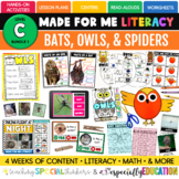 PRESALE: Bats, Spiders, & Owls (Made For Me Literacy: Leve
