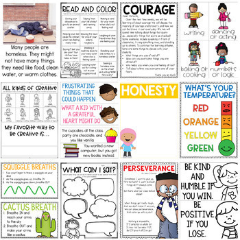 Character Education Curriculum Growing Bundle {Volume 2}