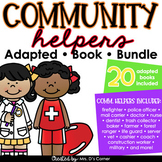 Community Helpers Adapted Book Bundle [ 21 books included! ]