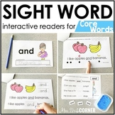 Core Vocab Interactive Sight Word Reader Bundle | Core Voc