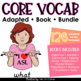 Core Vocabulary Adapted Book Bundle [Level 1 and Level 2]