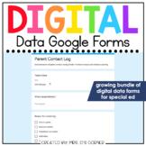 Digital Data Forms for Special Education | Digital Google