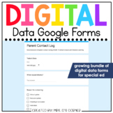 Digital Data Forms for Special Education | Digital Google