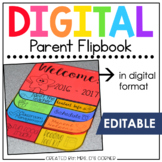 Digital Parent Flipbook   Back to School Flipbook for Meet
