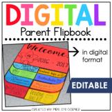 Digital Parent Flipbook | Back to School Flipbook for Meet