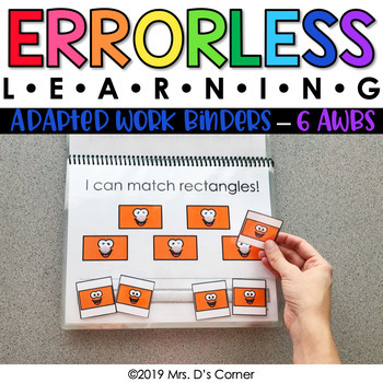 Errorless Learning Adapted Work Binders® (6 AWBs included!)