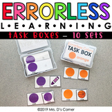 Errorless Learning Task Box (91 task boxes included!)