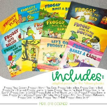 Froggy Adapted Piece Book Set [20 book set!]