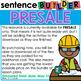 PRESALE Holiday Sentence Builder Bundle | Special Education Writing Bundle