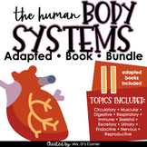 Human Body Systems Adapted Book Bundle [ Level 1 and 2 ] 1