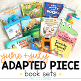 June and July Adapted Piece Book Set [12 books included!]