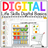 Life Skills Digital Basics for Special Ed | Distance Learning