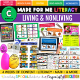 PRESALE: Living and Non-Living (Made For Me Literacy: Leve