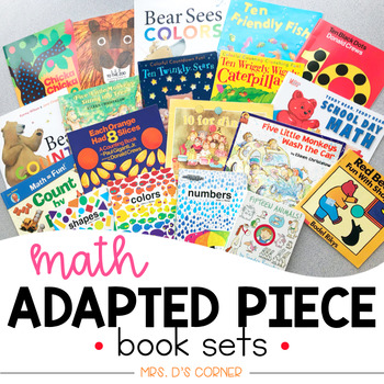 PRESALE |  Math Adapted Piece Book Set [20 book set!] | Math Adapted Books