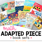 Math Adapted Piece Book Set [20 book set!]   Math Adapted Books