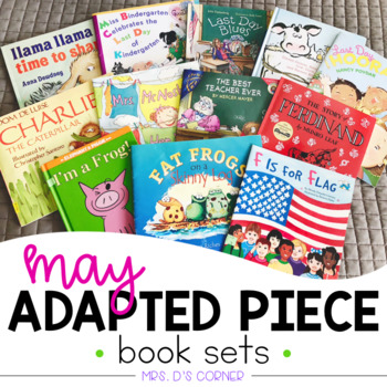 May Adapted Piece Book Set [12 books included!]