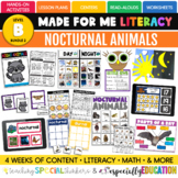 Nocturnal Animals (Made For Me Literacy: Level B, Bundle 2)