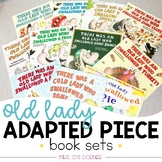 Old Lady Swallowed a... Adapted Piece Book Set Bundle | Lu