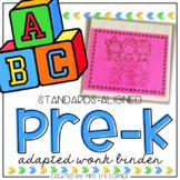 PreKindergarten Adapted Work Binder® | PreK Adapted Work Binder®