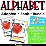 Real Life Letters - Alphabet Adapted Books Bundle [ 2 levels per ]