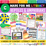 PRESALE: Reptiles & Amphibians (Made For Me Literacy: Leve