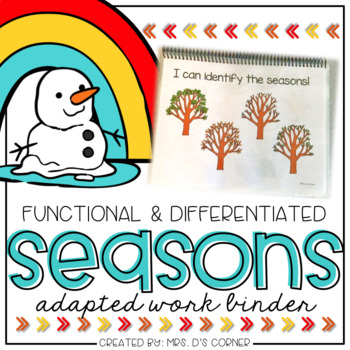 Seasons Adapted Work Binder