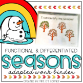 Seasons Adapted Work Binder