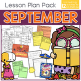 September Lesson Plan Pack | 12 Activities for Math, ELA,
