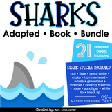 Sharks Adapted Book Bundle [ 21 total adapted books included! ]
