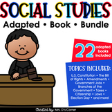 Social Studies Adapted Book Bundle [ 24 books included! ]