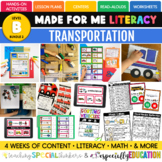 Transportation (Made For Me Literacy: Level B, Bundle 2)