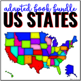 US States Adapted Book Bundle | State Symbols Book Bundle
