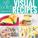 Visual Recipes with REAL pictures - August ( for special education )