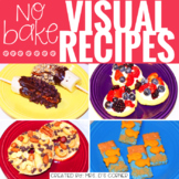 Visual Recipes with REAL pictures - July ( for special edu