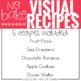 July Visual Recipes with REAL pictures ( for special education )