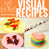 Visual Recipes with REAL pictures - June ( for special education )