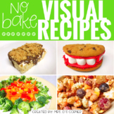 October Visual Recipes with REAL pictures ( for special ed