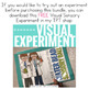 Visual Sensory Experiments { BUNDLE of 9 Sensory Activities }