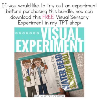 Visual Sensory Experiments { BUNDLE of 9 Sensory Activities }