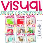 PRESALE Visual Sensory Experiments { BUNDLE of 9 Sensory Activities }