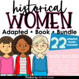 Women's History Adapted Book Bundle   22 Famous Women of History