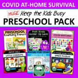 PRESCHOOL ACTIVITY PACK Survival At Home COVID Keep the Kids Busy