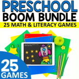 PRESCHOOL BOOM GROWING BUNDLE - Distance Learning - Kinder