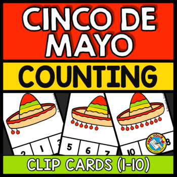 PRESCHOOL CINCO DE MAYO (KINDERGARTEN ACTIVITIES COUNTING 1-10) NUMBER SENSE