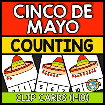 CINCO DE MAYO ACTIVITIES PRESCHOOL (SOMBRERO COUNTING 1-10) NUMBER SENSE